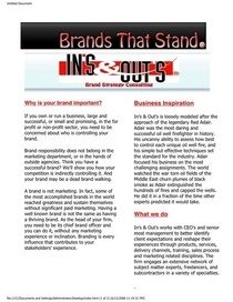 New brandsthatstand page cv