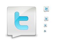 Logo twitter cv