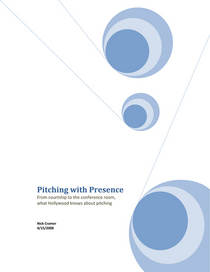 Pitching with presence cover cv