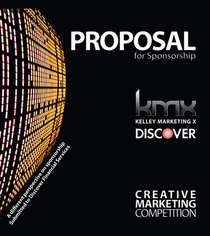 Discover proposal brochure cover cv