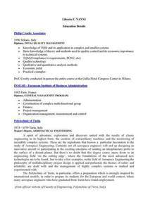 L f nanni   education details cv