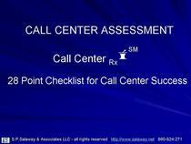 Call center assessment cv