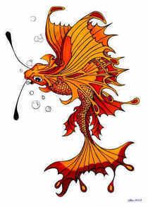 Yellow butterfly fish cv