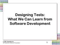 Coverslide designing tests cv