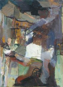 Hometown no.8  73x100cm oil on canvas 2004 cv