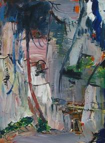Hometown no.19 63x86cm oil on canvas 2005 cv