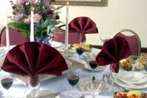 Sample table setting 7 cv