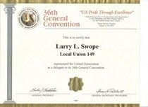 U.a. convention 2001 cv