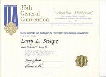 U.a. convention 1996 cv