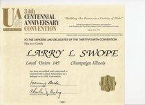 U.a. convention 1991 cv