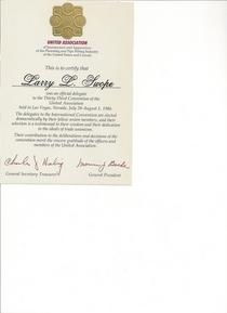 U.a. convention 1986 cv