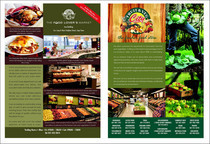 A5 leaflet organic stand cv