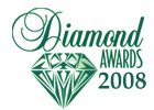 Diamonds 2008 logo cv