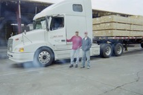 Dad and josh shubert trucking cv
