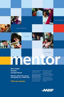 Aiga mentoring poster cv