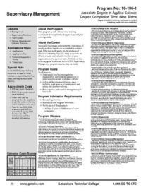 Supervisory management course description 001 cv