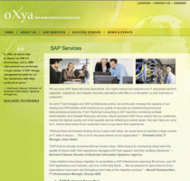 Oxyawebsite services cv