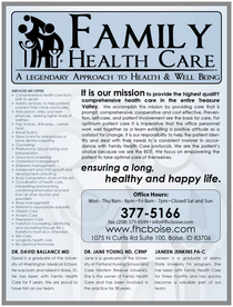 Family health care cv
