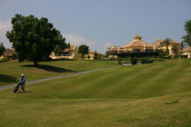 Hotel almenara vista desde el campo de golf cv