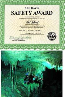 Cave diving cv