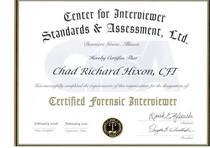 Cfi certificate cv