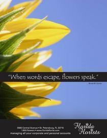 Floral ad large cv