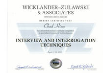 Wz certificate cv