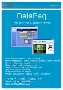 Datapaq flyer front cv