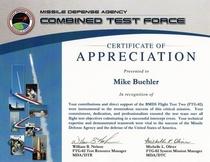 Mda certificate cv
