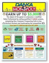 Danka monopoly cv