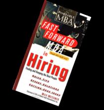 Hiring book cover cv