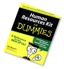 Human resources kit for dummies cv