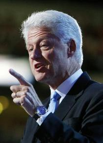 Bill clinton puts democratic convention back on track cv