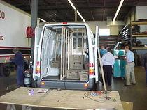 Overall truck cv