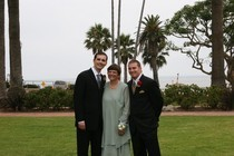 Karen with sons john and jason cv