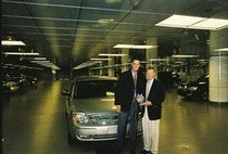 Clifton lambreth with ford ceo alan mullaly cv