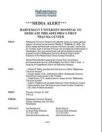 Media alert cv