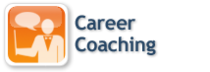 Career coaching icon cv