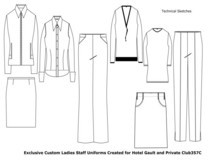 Ladies club outfits cv