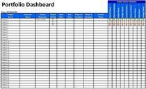 Portfolio dashboard cv