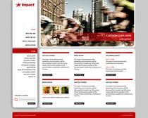 Impact web red cv