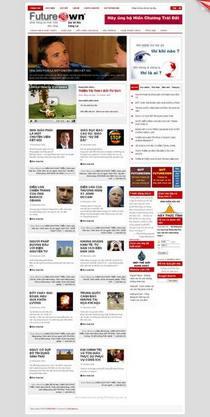 Futureown website cv