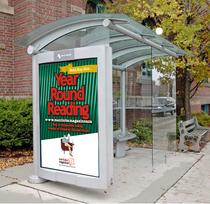 Transite shelter sign cv