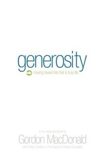 Generosity cover cv