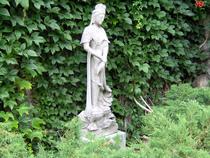 Asian statue cv
