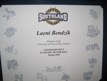 Commissioner s academic honor roll spring 08 cv
