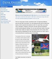 Electron s home page cv