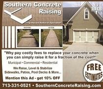 Southern Concrete Raising
